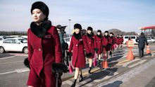 North Korean 'army of beauties' rock throwback outfits hand-selected by Kim Jong Un
