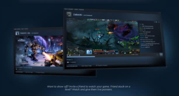 Steam Broadcasting grabs popcorn, exits beta
