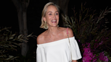 Sharon Stone warns people about the early signs of a stroke