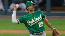 Matt Olson wins third straight Fielding Bible award at first base