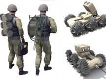 Macroswiss building battlefield-ready SpyRobot 6x6