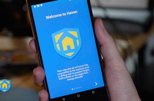 Edward Snowden's Haven app uses your phone to detect intruders