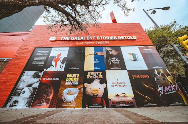 YouTube makes art out of ads at SXSW