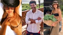 Moda en la arena: los looks de los famosos para ir a la playa