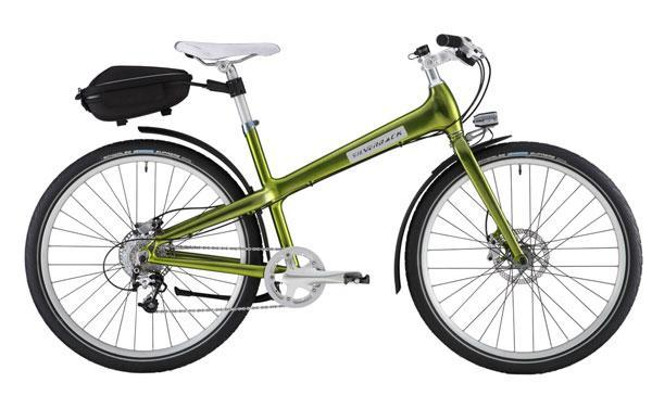 Silverback's Starke city bikes charge your gadgets, firm your thighs