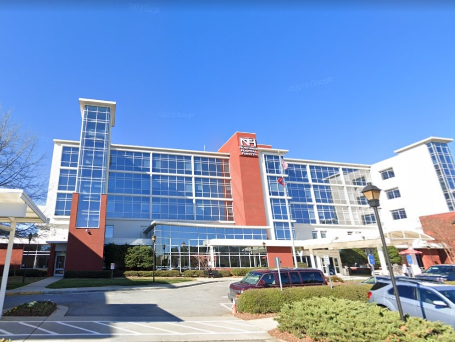 Northside Hospital Forsyth was ranked eighth in the state.