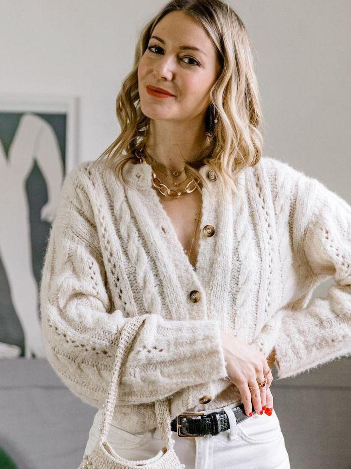 I Live in Paris—and These Are the 5 Ways French Women Are Styling Knitwear - Yahoo Lifestyle