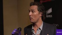 Matthew McConaughey says Oscar win gave him a new confidence