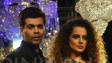 Karan Johar on Kangana Ranaut's nepotism remarks - She clearly learned those 12 lines and came