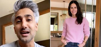 Courteney Cox Enlists Tan France to Help Style Her 2020 Emmys Look (Spoiler: She's Wearing Jeans!)