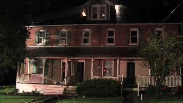 Fast-moving blaze damages 3 homes in Bucks County