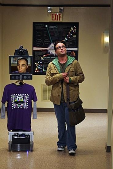 Screen Grabs: Willow Garage's telepresence bot guest stars on The Big Bang Theory