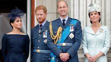 Royal couples reunite two months after split