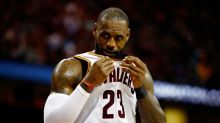 LeBron James picks up four first-half fouls for the first time in his career