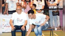 Andy Lau participates in HK Paralympic Day