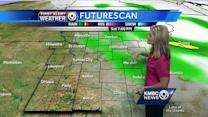 Isolated showers possible for your Saturday