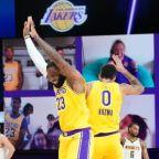 Watch Lakers Kyle Kuzma drain game-winner over Bol Bol