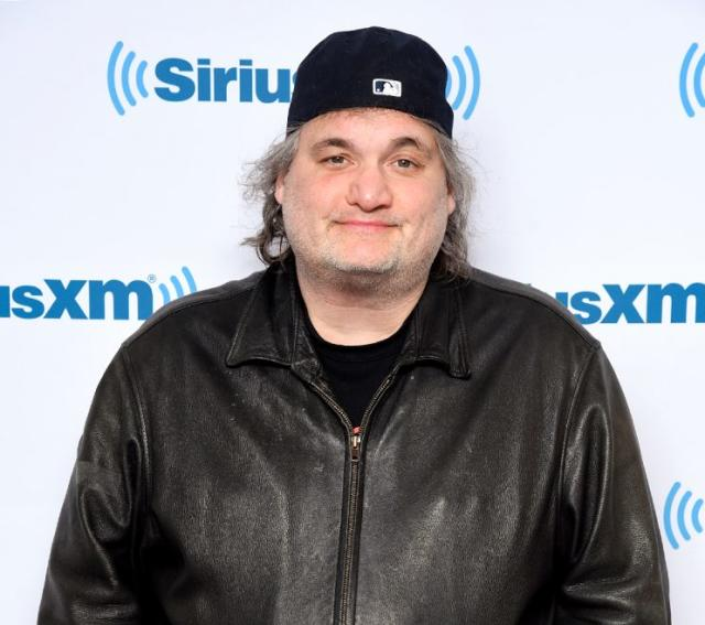 Comedian Artie Lange paid a visit to the SiriusXM studios on March 8. (Photo: Matthew Eisman/Getty Images)