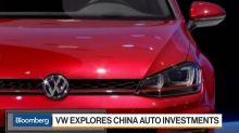 Volkswagen Explores China Auto Investments