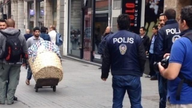 Police Gather Near Taksim Square Ahead of Planned Protests