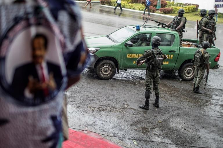 Two regions that are home to Cameroon's anglophone minority are in the grip of 29-month-old conflict between the armed forces and separatists. Rights watchdogs say atrocities and other abuses have been committed by both sides (AFP Photo/MARCO LONGARI)