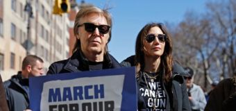 McCartney at march: 'One of my best friends was killed'