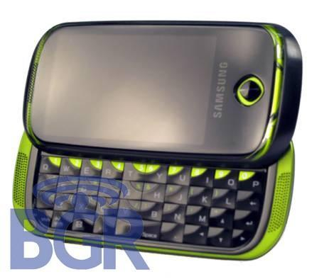 Is this T-Mobile's Samsung Bigfoot with Android, AMOLED, and QWERTY?