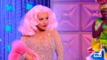Christina Aguilera surprised the queens on 'RuPaul's Drag Race' and totally shut it down