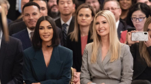 Ivanka Trump faces backlash after praising Kim Kardashian for her advocacy work: 'No qualifications whatsoever'