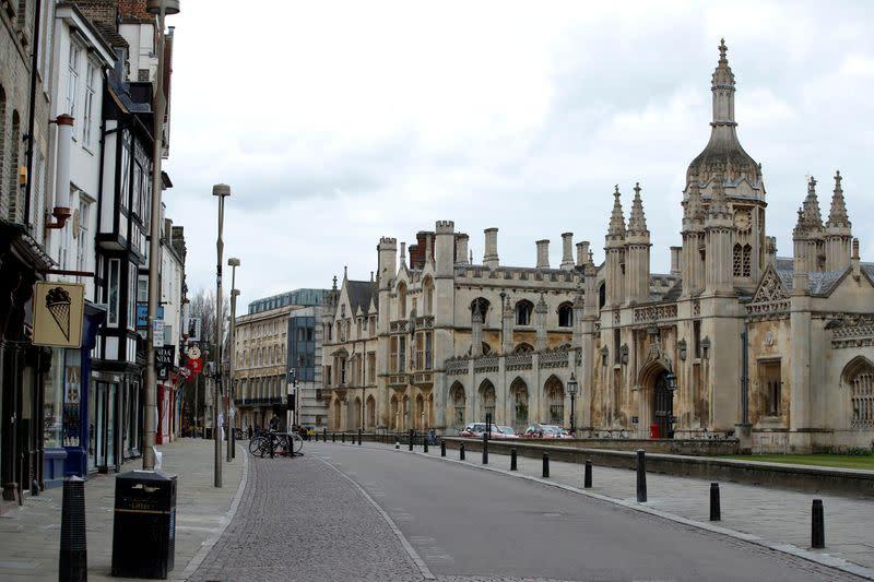 Cambridge university aims for autumn trials of coronavirus vaccine after UK funding