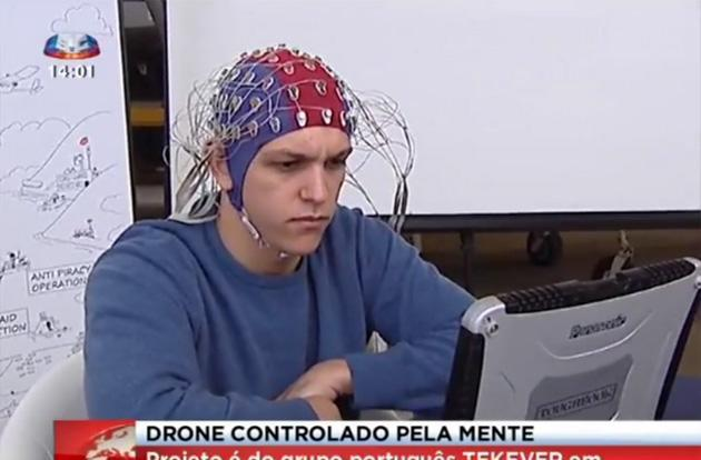 Mind-controlled drones promise a future of hands-free flying
