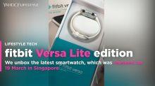 fitbit Versa Lite edition first looks