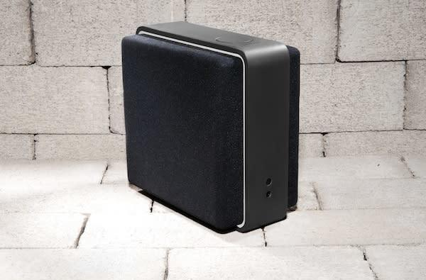 Audyssey's Lower East Side Audio Dock Air: square to be cool