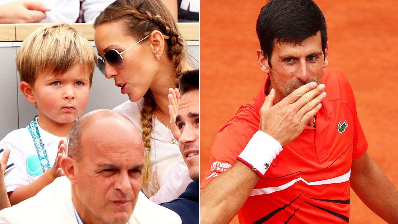 French Open 2019 Novak Djokovic S Son Steals The Show
