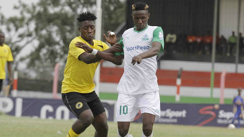 Tusker midfielder admitted to hospital