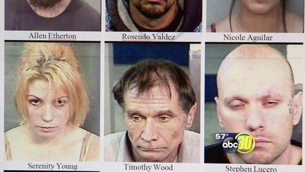 Coalinga PD bust 28 with undercover operation