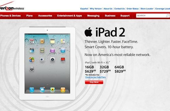 Apple investigating 3G issues on some Verizon iPad 2s, software fix expected soon