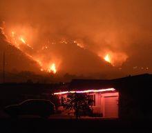 Biggest LA fire spreading more slowly as survivors pick up the pieces