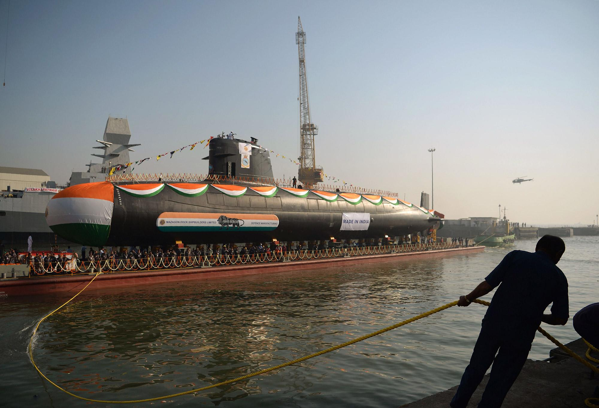Modi Wants Global Warship Makers to Build $6.6 Billion in New Submarines