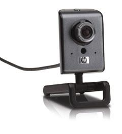 HP's two megapixel wide-angle webcam