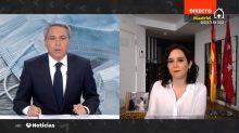 """La frase que Isabel Díaz Ayuso dijo a Vicente Vallés por la que está siendo aplaudida: """"Bravo"""""""
