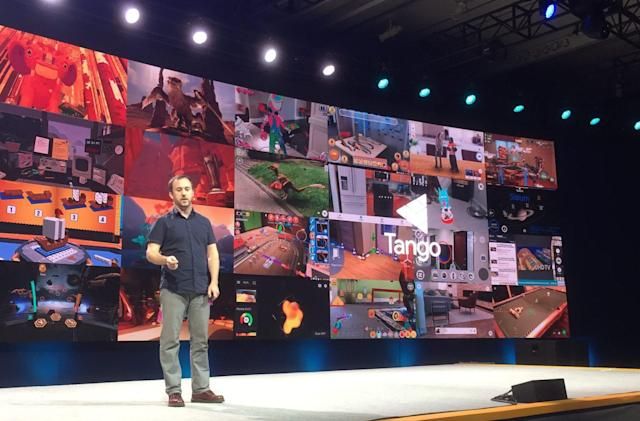 Get ready for more AR apps for Google's Tango