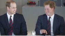 Prince William talks Prince Harry's engagement