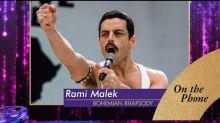 Rami Malek on 'emotional moment' of Oscar nomination