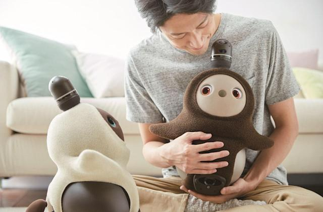 Japan's latest companion robot is the fuzzy, expressive Lovot