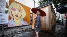 Dr. Bonnie Henry honoured at mural exhibition, picks up Fluevog shoes in Gastown