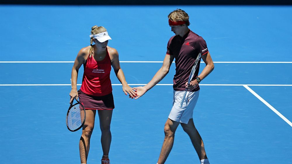 Zverev, Kerber dominant as Germany close in on Hopman Cup final