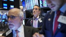 US STOCKS-Wall Street gains as earnings season begins in earnest