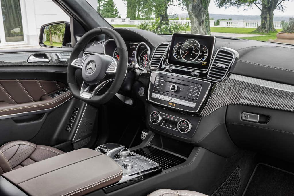 Inside the new Mercedes-Benz GLS