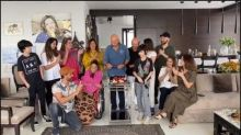Rakesh Roshan's Birthday Celebrations: Hrithik, Ex-Wife Sussanne And Family Make Memories With Love